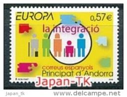 """ANDORRA (span. Post ) Mi.Nr. 333  EUROPA CEPT """"Integration"""" 2006 - MNH - 2006"""