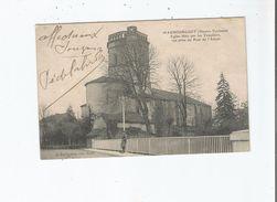 MAUBOURGUET (HAUTES PYRENEES) EGLISE BATIE PAR LES TEMPLIERS VUE PRISE DU PONT DE L'ADOUR 1904 - Maubourguet