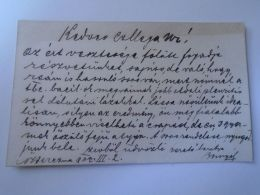 D153069  Autograph On Visit Card  - Dr.BOSNYÁK Béla- Nagyberezna Ukraine Ung Vármegye 1902 - Autographes