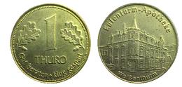 00043 GETTONE TOKEN JETON FICHA APOTHEKE TALER EULENTURM APOTHEKE - Allemagne