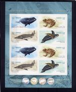 CANADA 2007  MNH # 2233b ENDANGERED SPECIES   Pane Of 8 - Carnets