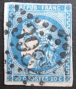 LOT R1703/449 - CERES EMISSION DE BORDEAUX N°46B - GC 3982 TOULOUSE (Haute Garonne) - 1870 Ausgabe Bordeaux