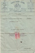 Invoice * Brazil * 1941 * Casa Good-Star * Rio De Janeiro - Factures & Documents Commerciaux