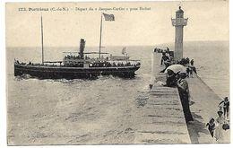 """SAINT QUAY PORTRIEUX - Départ Du """"Jacques Cartier"""" Pour Brehat - Saint-Quay-Portrieux"""