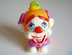 Lustige Clown Spardosen / Alfredo + BPZ - Ü-Ei