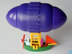 Abenteuerreisen Jules Vernes / Luftschiff + BPZ - Maxi (Kinder-)