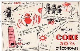 Sept17  79229   Buvard   Coke - Hydrocarbures