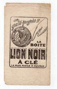 Sept17  79201   Buvard   Lion Noir - Gas, Garage, Oil