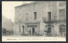 +++ CPA - France 63 - BOURG LASTIC - Hôtel Restaurant Merle Bouyon - Café   // - Riom