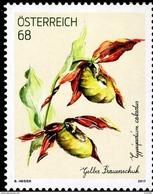 Austria - 2017 - Cypripedium Calceolus - Lady Slipper Orchid - Mint Special Stamp - 2011-... Unused Stamps