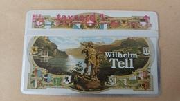 Switzerland-(k-93/47)-sir Rowland Hill Ag-wilhelm Tell-(322l)-(1chf)-tirage-10.000-mint Card+1card Prepiad Free - Suisse
