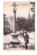 13 Maillane Croix Du Poete Mistral Provence Prouvenço Croux Poueto Cpa Animée - France
