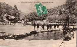 Abreschwiller - La Sarre - Le Sanatorium En Hiver - France