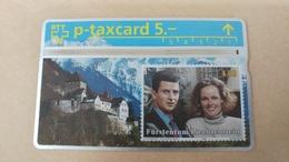 Switzerland-(kp-93/112)-furstentum Liechtenstein-(308l39082)-(5chf)-tirage-5.000-used Card+1card Prepiad Free - Suisse