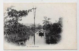 CPA Guyane Non Circulé Le Canal De KAW - Autres