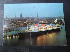 GERMANY,  Hamburg Harbour - TS Hanseatic - Atlantik Line - Schiff - Ship - Dampfer - Allemagne