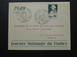 Lettre FDC Duc De Choiseul Journée Du Timbre Paris 1949 - FDC