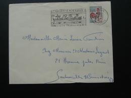 Flamme Sur Lettre Postmark On Cover Tapisserie De Bayeux William The Conqueror Calvados 1965 - Annullamenti Meccanici (pubblicitari)