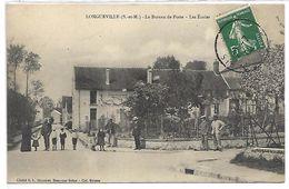 LONGUEVILLE - Le Bureau De Poste - Les Ecoles - France