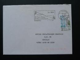 Flamme Sur Lettre Postmark On Cover Telegraphe Chappe 67 Saverne Bas Rhin 1981 - Télécom