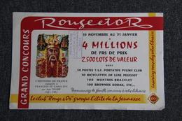 "BUVARD "" ROUGE Et OR "" - Blotters"