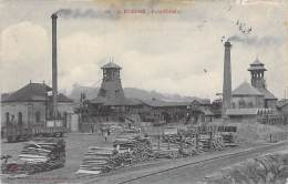 INDUSTRIE Usines - 42 - SAINT ETIENNE : Puits Chatelus - CPA ( Usine Entreprise Fabrik Fabriek Factory Industry ) - Saint Etienne