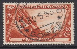 ITALIA REGNO 1932  Decennale Marcia Su Roma Sassone N.333  Usato LUXUS GESTEMPELT - Usati