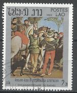 Laos 1983. Scott #444 (U) Painting By Raphael - Laos
