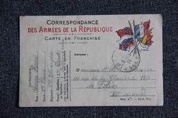 Guerre De 1914 -18 : Correspondance Des Armées De La République - Oorlog 1914-18