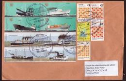 Argentina - 2017 - Lettre - Navires Marchands - Bateaux à Vapeur - Lettres & Documents