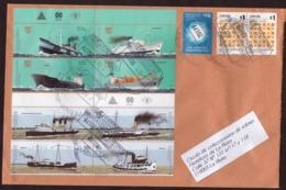 Argentina - 2017- Lettre - Navires Marchands - Bateaux à Vapeur - Lettres & Documents