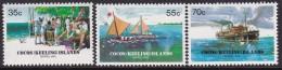 Cocos Keeling Islands 1984 Barrel Mail Sc 111-13 Mint Never Hinged - Kokosinseln (Keeling Islands)