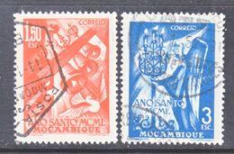MOZAMBIQUE  330-31  (o)   HOLY  YEAR - Mozambique