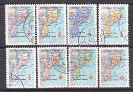 MOZAMBIQUE  387-94   (o)    MAP - Mozambique