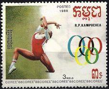 Kampuchea 1988 - Seoul Olympics : Floor Exercise ( Mi 928 - YT 791 ) - Zomer 1988: Seoel
