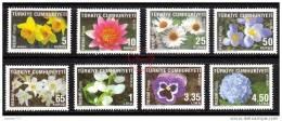 (R271-78) TURKEY 2009 OFFICIAL STAMPS SET MNH** - Dienstmarken