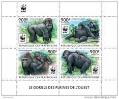 Central African Republic. 2015 WWF – Gorilla (set). (225a) - Gorilles