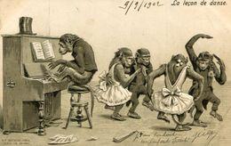 SINGES(CARTE GAUFREE) - Scimmie