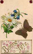 PAPILLONS(CARTE GAUFREE) - Papillons