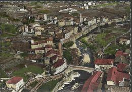 (V)En Avion Au Dessus De... Mariac - Vue Générale Du Pont Des Fromentières - Tampon Hexagonal Tireté De Mariac - Other Municipalities