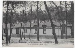 ARES - N° 12 - AERIUM DE LA FONDATION WALLERSTEIN EN 1913 - AILE DU PAVILLON DES PETITS - CPA NON VOYAGEE - Arès