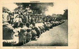 DAHOMEY(OUIDAH) FETICHEUSE - Dahomey