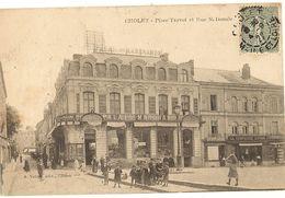 49 -   CHOLET - Place Travot Et Rue Nationale   277 - Cholet