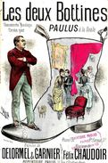 Les Deux Bottines. Paulus. - Partitions Musicales Anciennes
