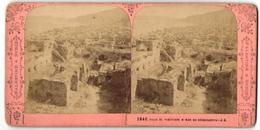 Vue Stéréoscopique-Photo Photographe Inconnu,  Vue De Tiberias, Ruines Am See Genezareth - Stereo-Photographie