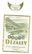 Rare // Dézaley, La Gueniettaz, Et. & Fd. Chappuis, Rivaz, Vaud // Suisse - Etiquettes