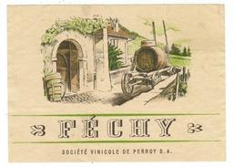 Rare // Féchy, Société Vinicole De Perroy Vaud // Suisse - Etiquettes