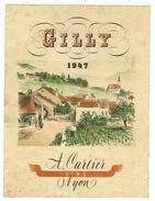 Rare // Gilly 1947, A.Cartier, Vins Nyon, Vaud // Suisse - Etiquettes