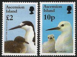 1996 Ascension Birds Definitives  Complete Set Of 16  MNH - Ascension (Ile De L')