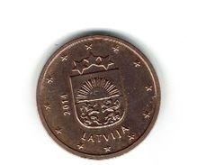 LETTONIE -LATVIJA 2014 / Pièce De 0.02 Euro - 2 Centimes De Circulation 1ère Année / Usage Courant /vte Multiple - Lettonie